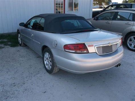 2004 Chrysler Sebring Gtc Convertible by Buy Used 2004 Chrysler Sebring Gtc Convertible In