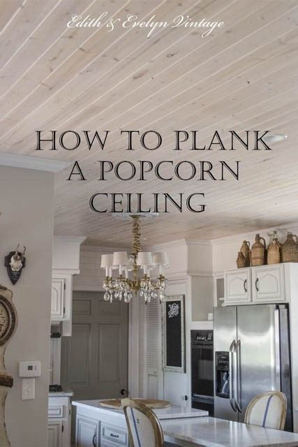 popcorn ceiling installation how to plank a popcorn ceiling