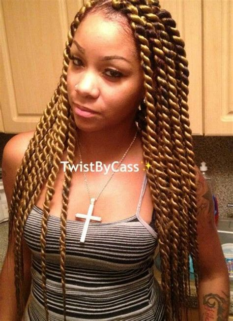 large black and blond braids havana twist twistbycass i h a i r pinterest