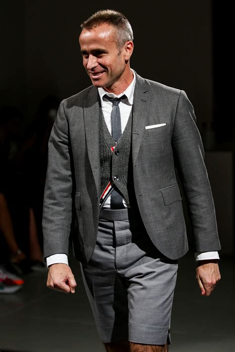 Thom Browne five questions for thom browne who talks fashion at