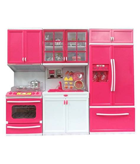 kitchen set picture to color dwiza modern kitchen play set with refrigerator cook top