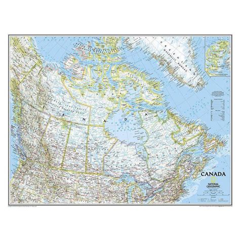national geographic map of canada national geographic countries map canada