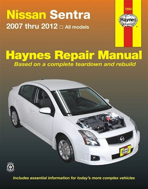 what is the best auto repair manual 2007 ford freestar parking system nissan sentra repair manual 2007 2012 haynes best price