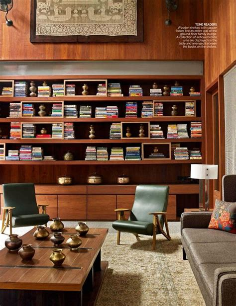 mid century modern bookcase for small library at home mid century modern living room mid century modern design