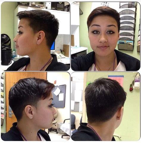how to cut a 360 degree haircut 360 pixiecut undercut my short hair pixie cut pinterest