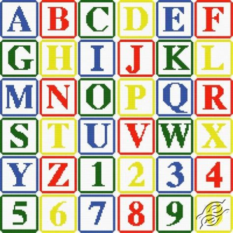 html pattern alphanumeric free patterns alphabets alphabet i gvello stitch