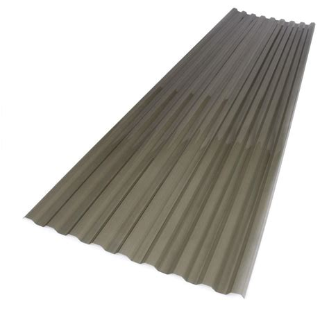 Roof Panel suntuf 26 in x 12 ft polycarbonate corrugated roof panel