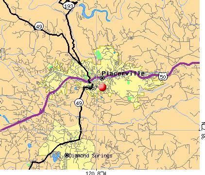 placerville ca zip code map