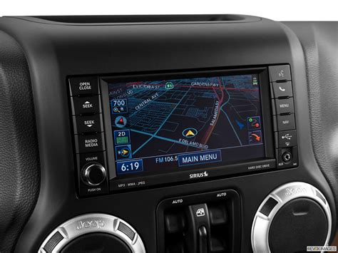 Jeep Navigation System 2014 Jeep Wrangler Unlimited 4wd Rubicon Driver Position