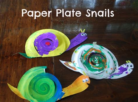 Paper Plate Snail Craft - 301 moved permanently