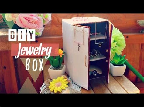 how to make a jewelry box from a shoebox diy crafts how to make a jewelry box joyero