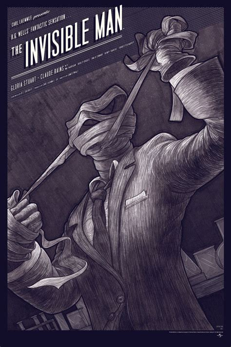 the invisible man the invisible man 1933 went to the pictures film posters pint