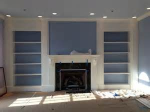 Built In Bookcase Around Fireplace 17 Best Ideas About Fireplace Bookcase On Pinterest
