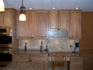 Natural Oak Kitchen Cabinets by Bertch Legacy Elite Door Style Oak Wood Natural
