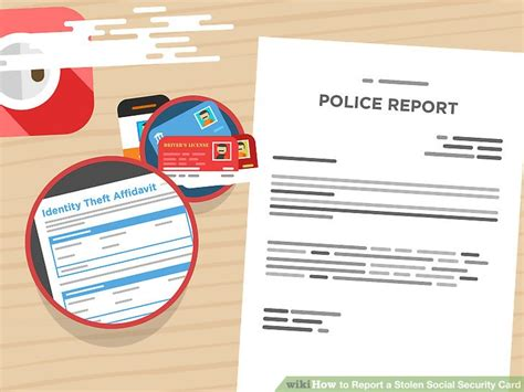 A Stolen how to report a stolen social security card 15 steps