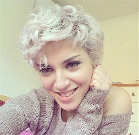 wavy thick hair with a pixie cut 20 lovely wavy curly pixie styles short hair popular