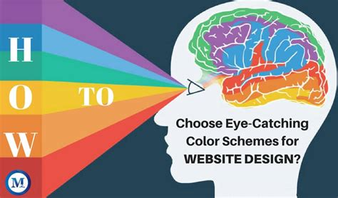 eye catching colors how to choose website design color schemes in 2018