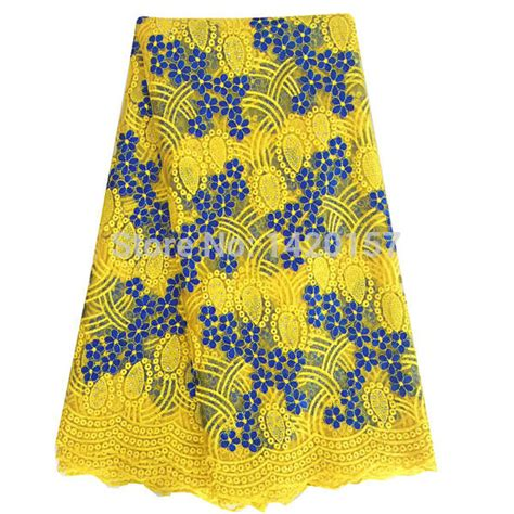 Best Seller High Quality Lace Yellow Tmc best quality lace fabric yellow swiss voile lace high quality emboridery cotton