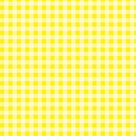 Yellow Gingham Pattern | daily prompt yellow