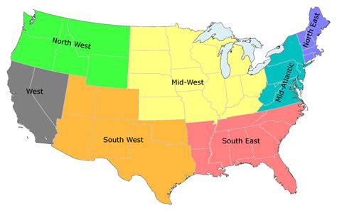 map of the 5 regions of the united states chicago civic media chicago s media chicago s