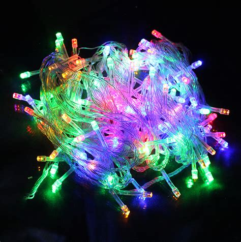 10m 100 led warm white led string lights fairy string