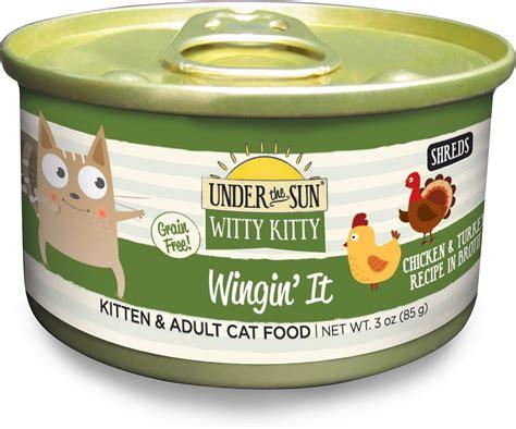 witty cat food the sun witty grain free wingin it chicken