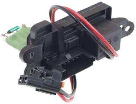 blower resistor 2006 trailblazer 2006 chevy trailblazer hi blower doesnt work electrical problem
