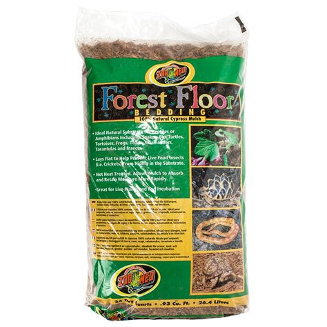 reptile bedding zoo med zoo med forest floor bedding reptile bark bedding