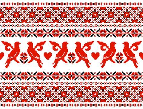 ukraine pattern vector ukraine style fabric pattern vector 03 vector pattern