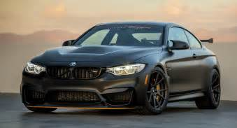 Bmw M4 Bmw M4 Gts Looks Sinister On Carbon Graphite Wheels