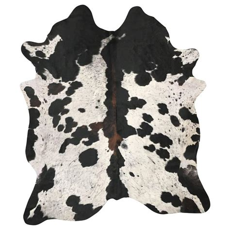 White Cowhide Rugs For Sale by Spotted Tri Color Cowhide Rug For Sale At 1stdibs