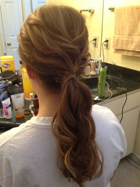 Curly Ponytail Hairstyles by 17 Best Images About Curly Ponytail On