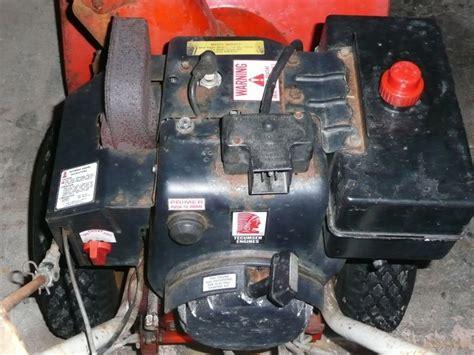 snowblower motor tecumseh snow blower engine parts