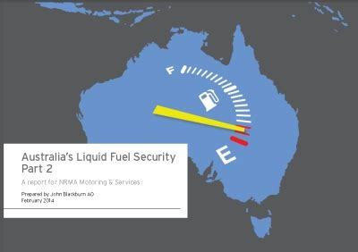australia s going to run out of petrol nrma transport