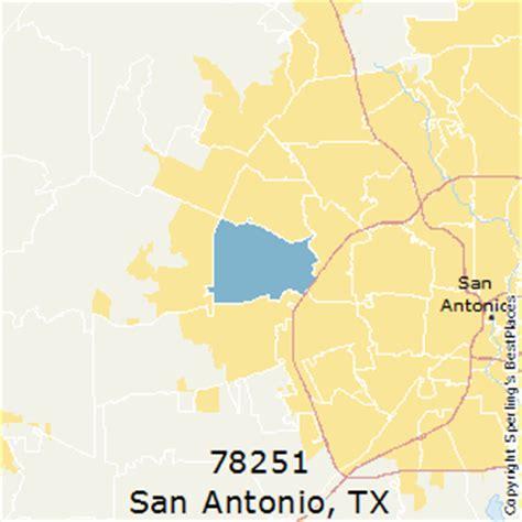 zip code map san antonio texas best places to live in san antonio zip 78251 texas
