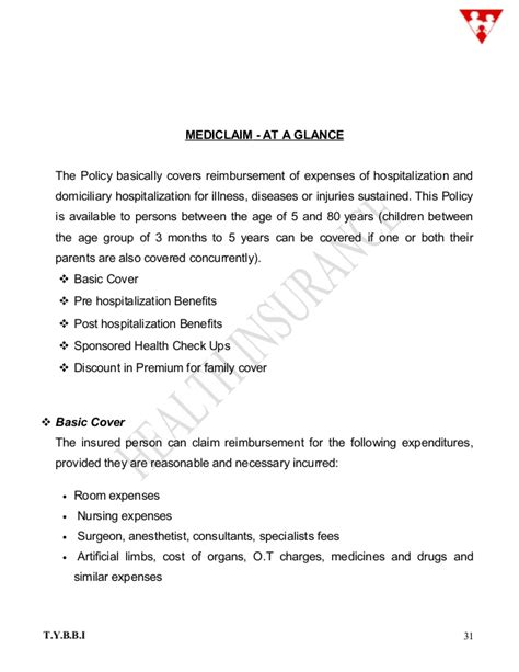 Insurance Maturity Letter health insurance pages 1 81