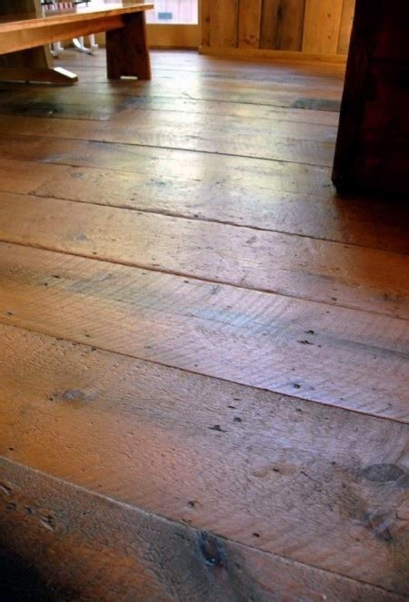 reclaimed barn wood floors renovated barn house pinterest