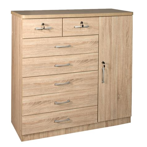 affordable chest of drawers in johannesburg titan 7 drawer 1 door chest decofurn factory shop