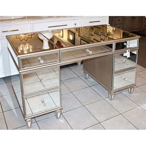 Mirrored Desks And Vanities by Mirrored Vanity Table Desk