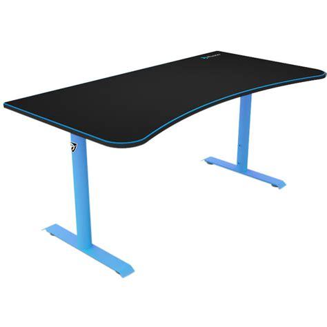 arozzi arena gaming desk arozzi arena gaming desk blue arena na blue b h photo