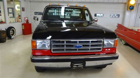 old car owners manuals 1988 ford f series instrument cluster 1988 ford f 150 4x4 xlt lariat 163057 miles red black pickup i6 4 9l manual 5 for sale ford