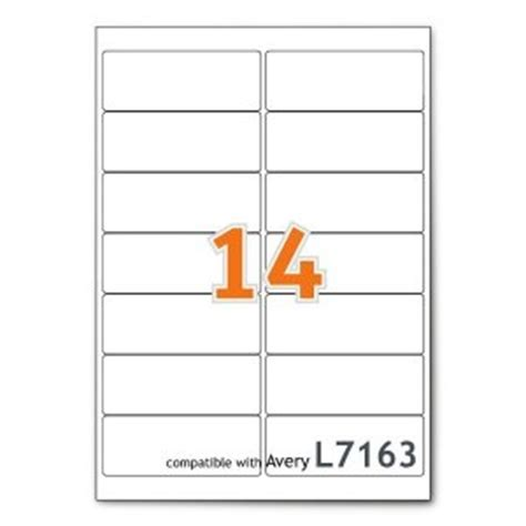 avery 14 labels per sheet template avery l7163 laser printer labels 14 labels per page 99