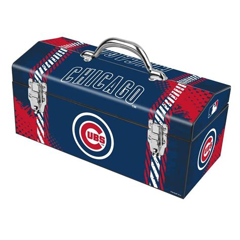 Cubs Box Office by Sainty International 16 In Chicago Cubs Mlb Tool Box