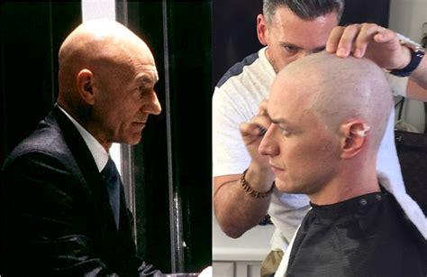 james mcavoy vine james mcavoy s bald head and cyclop s parents x men