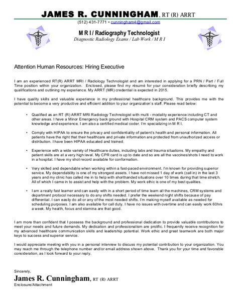 Cover Letter For Radiographer by Cover Letter For Radiographer Olala Propx Co