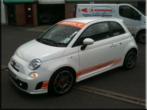 abarth 500 deeper side stripes vinyl creations