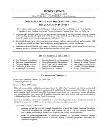Sle Buyer Resume by Merchandiser Resume Exles Resume Format 2017