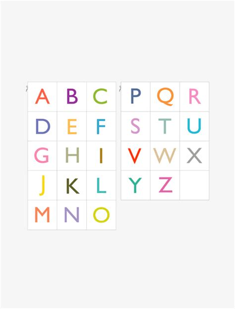 printable alphabet cards with pictures printable alphabet cards mr printables