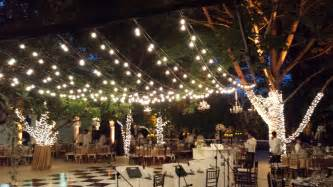 Patio Lights Strings Hanging Patio String Lights A Pattern Of Perfection Yard Envy