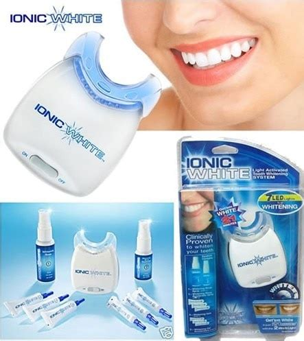 teeth whitening kit with led light ionic white teeth whitening kit ion teeth whitening light